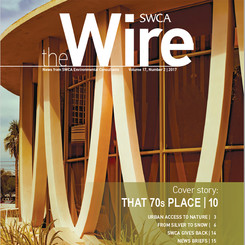 Cover image of SWCA's The Wire news magazine