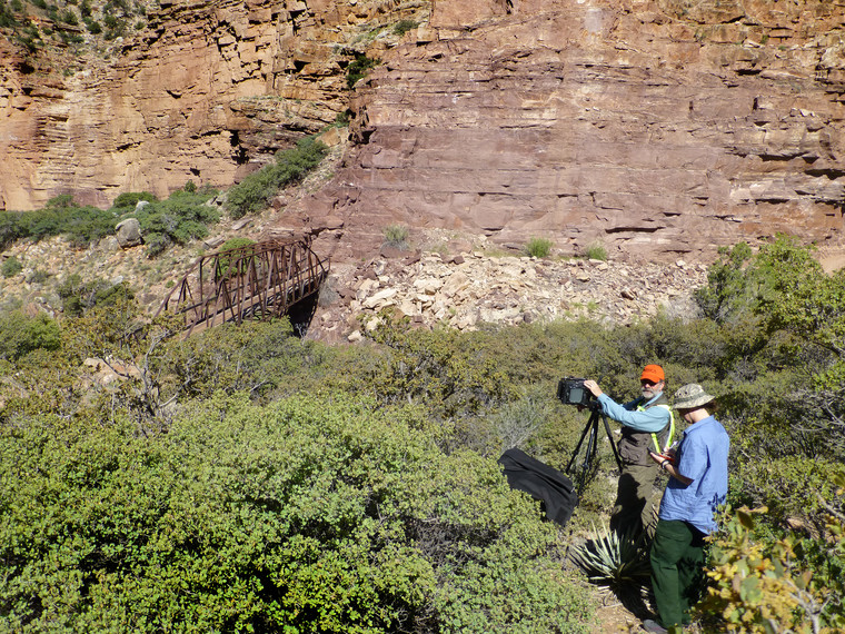 Trans-Canyon Water Line Research
