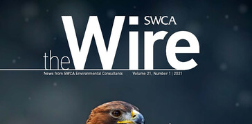 Cover image of SWCA's The Wire magazine